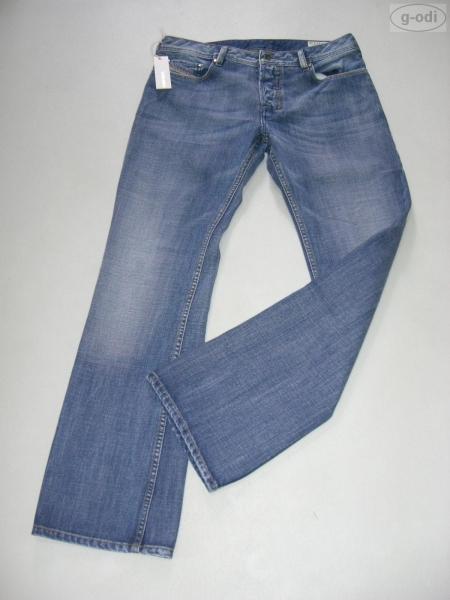 diesel herren bootcut jeans zatiny 008gw 34 34 neu ebay. Black Bedroom Furniture Sets. Home Design Ideas