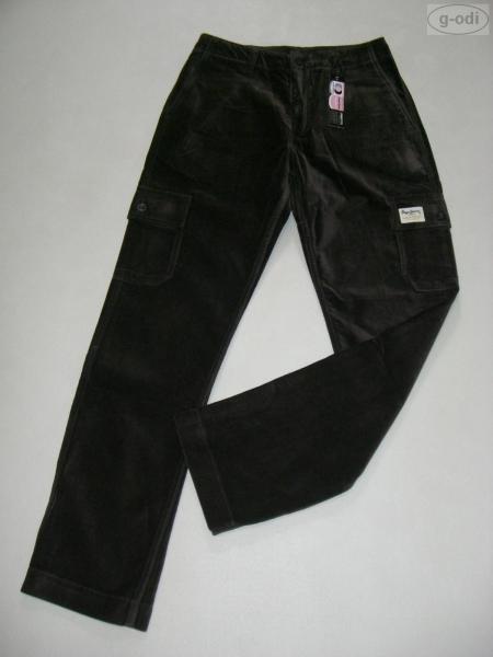 Pepe Jeans London Cargo Hose Cargohose 28/ 32 Samt NEU!