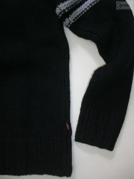 levi 39 s levis herren pullover wolle black gr l neu ebay. Black Bedroom Furniture Sets. Home Design Ideas