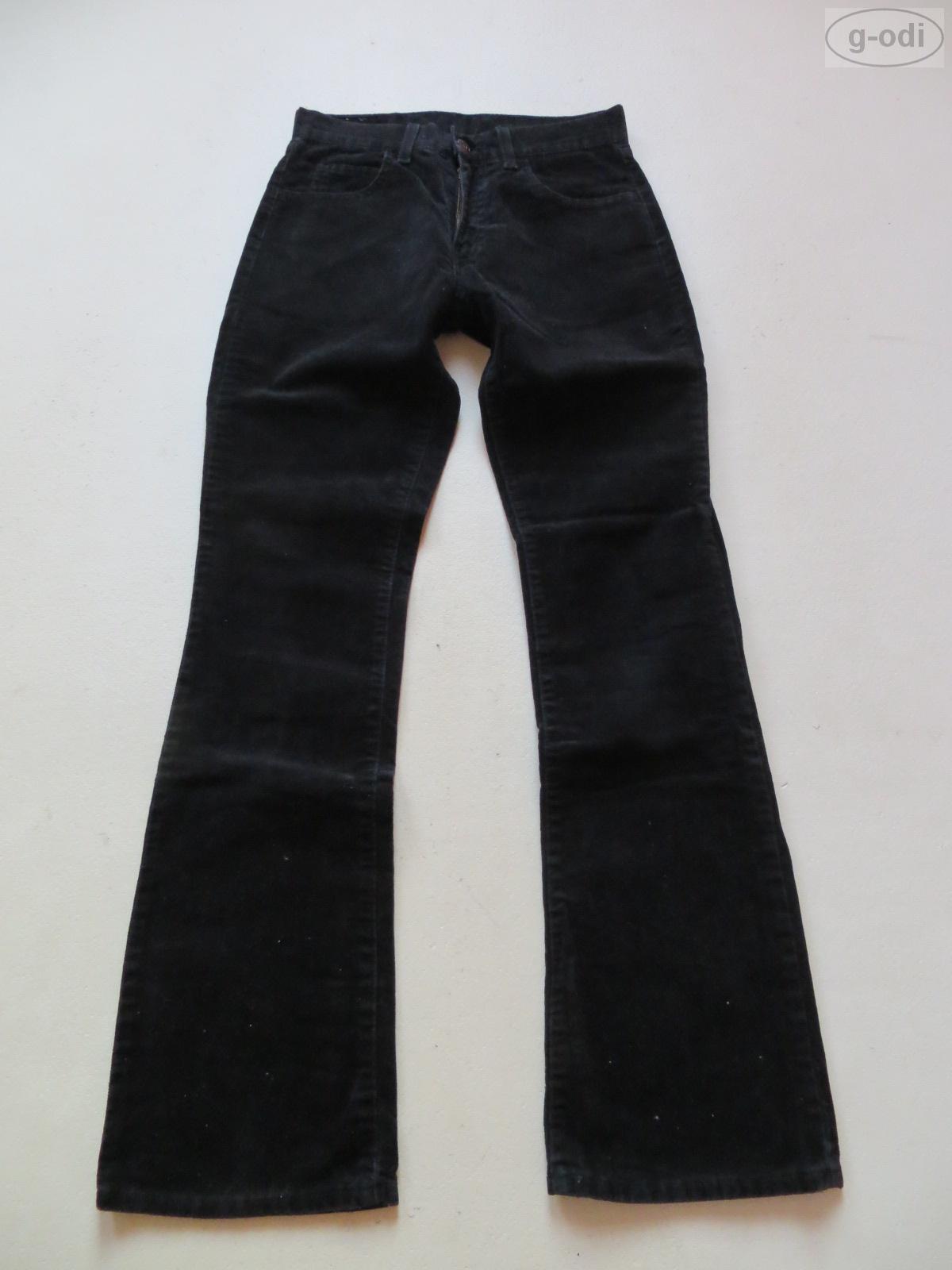 levi 39 s 525 cord bootcut jeans hose w 28 l 32 schwarz samtige cordhose 36 ebay. Black Bedroom Furniture Sets. Home Design Ideas