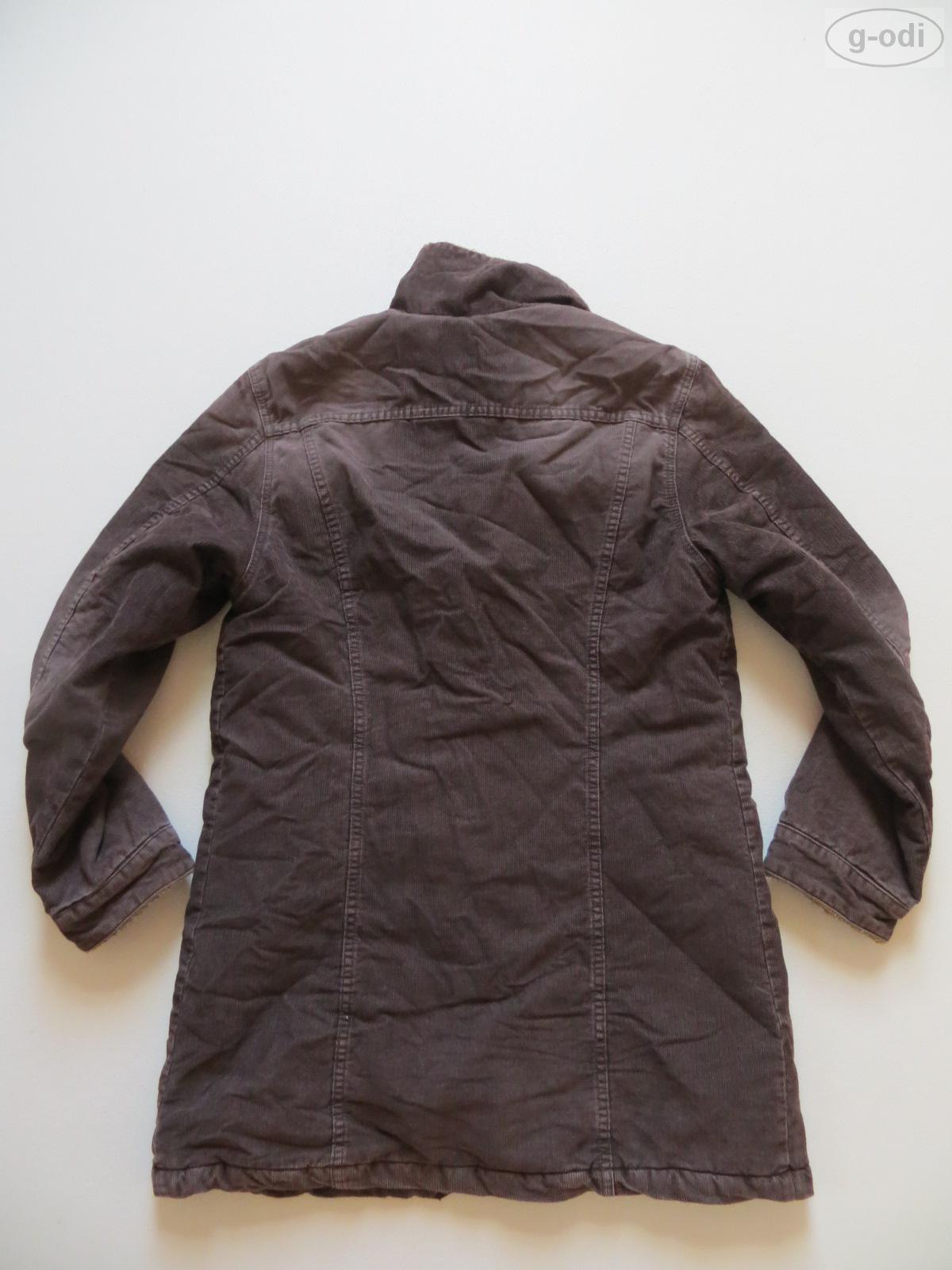 levi 39 s jeans cordjacke mit fell gr m braun cord kurz. Black Bedroom Furniture Sets. Home Design Ideas