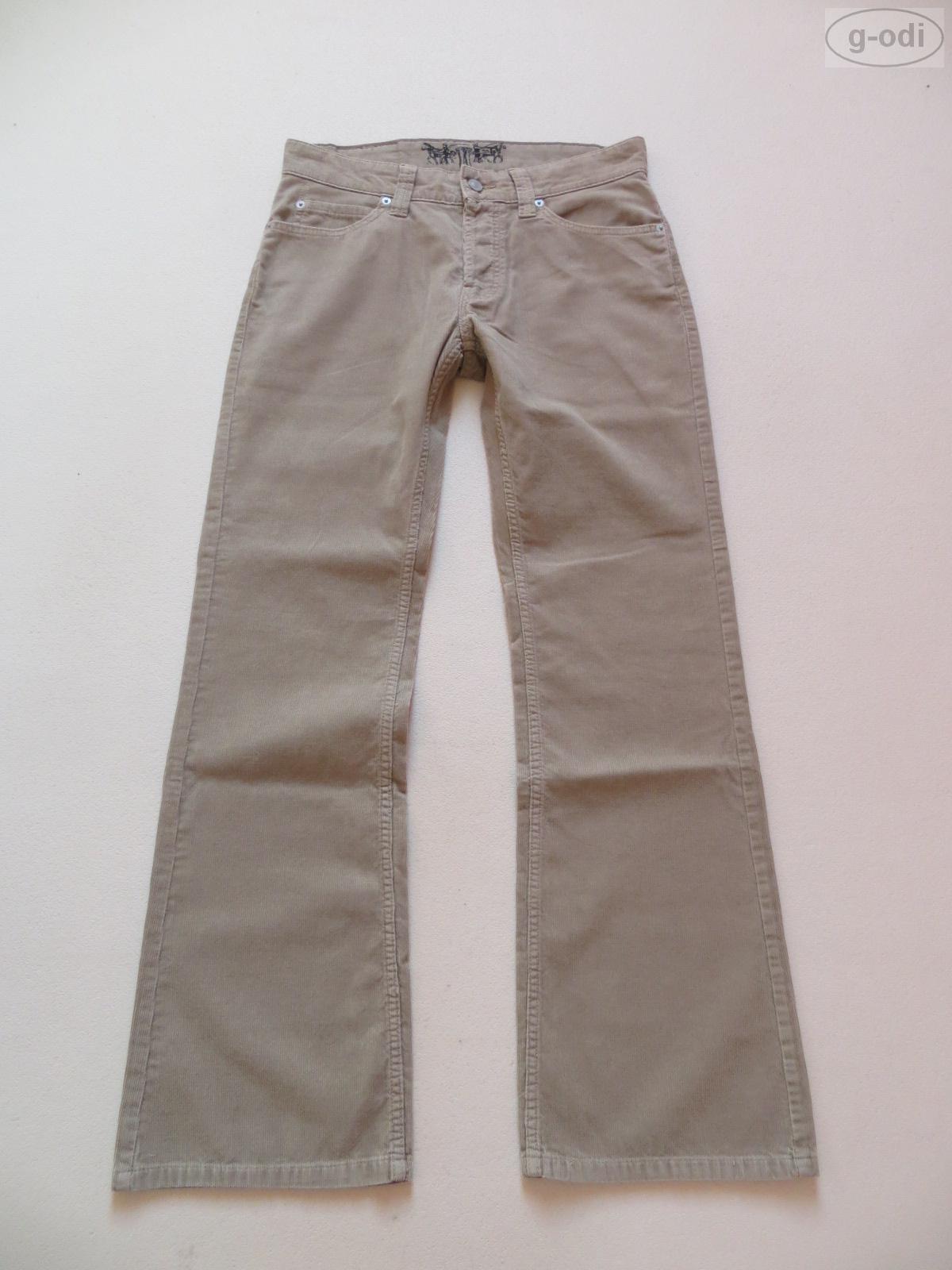 levi 39 s 512 cord bootcut jeans pantaloni w 31 l 32 beige come nuovo cord pantaloni rar ebay. Black Bedroom Furniture Sets. Home Design Ideas