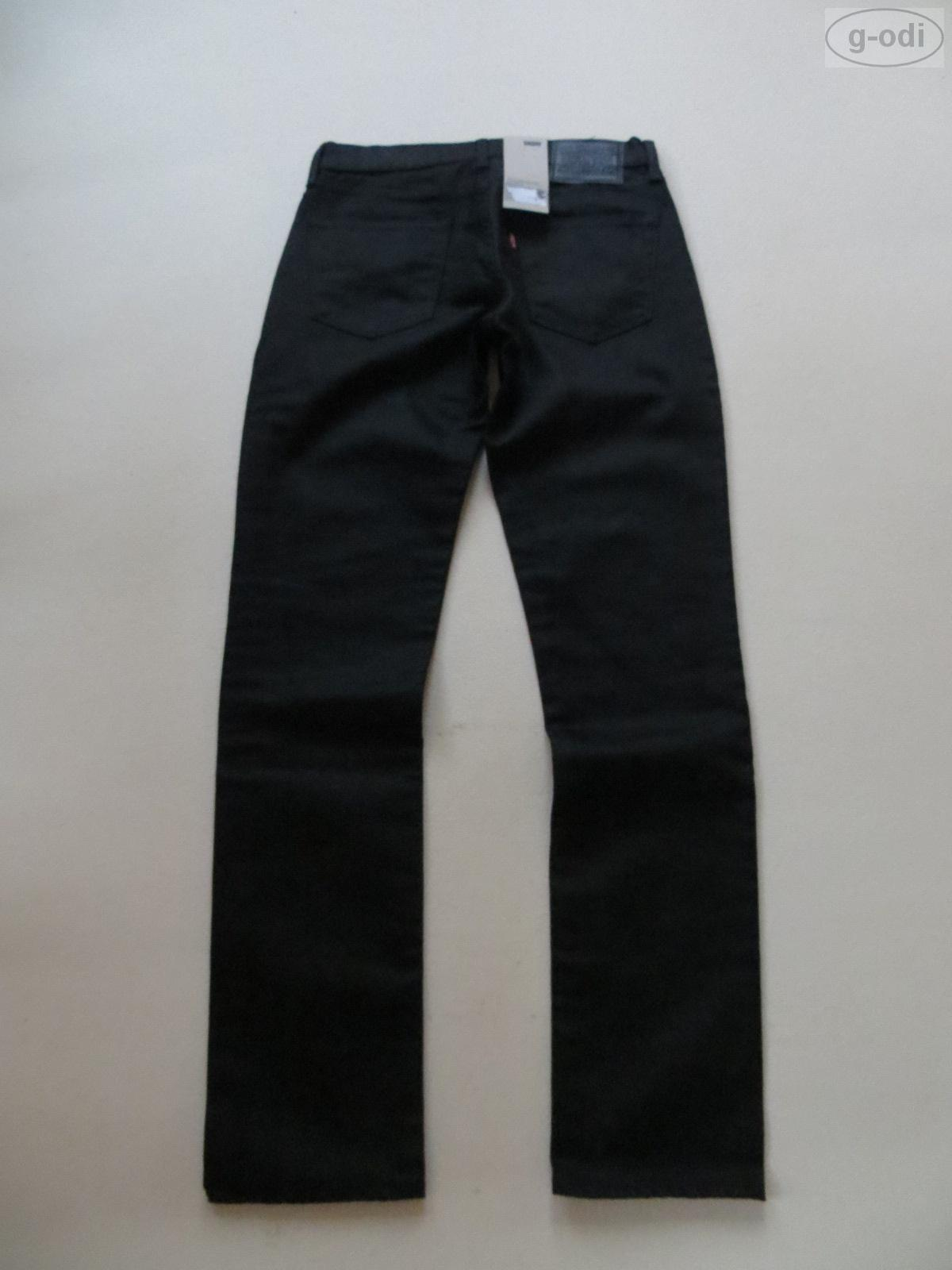 levi 39 s 511 slim fit jeans hose w 32 l 34 schwarz neu. Black Bedroom Furniture Sets. Home Design Ideas