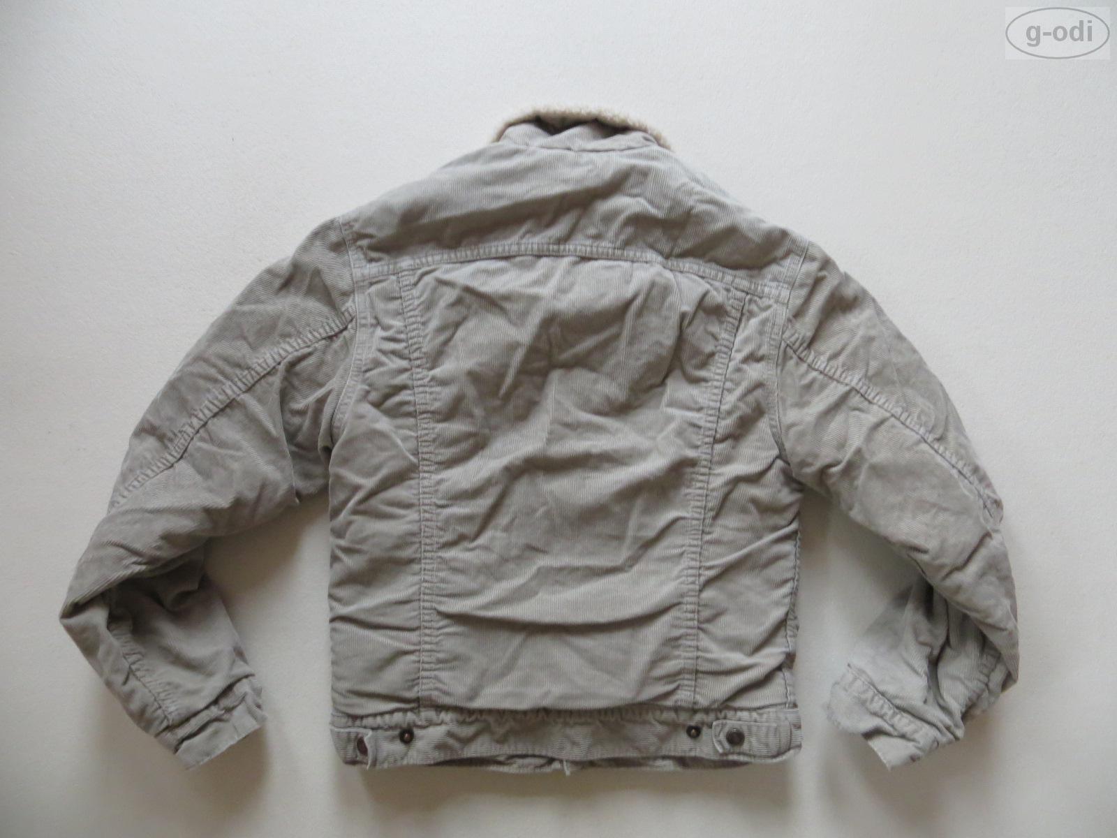 levi 39 s cord jeans jacke mit teddy fell gr xs. Black Bedroom Furniture Sets. Home Design Ideas