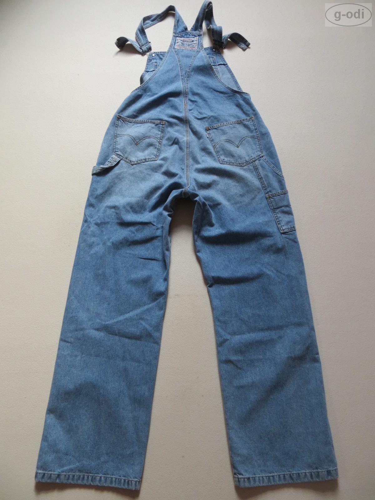 levi 39 s latzhose latz jeans gr xl ca w 32 l 32. Black Bedroom Furniture Sets. Home Design Ideas