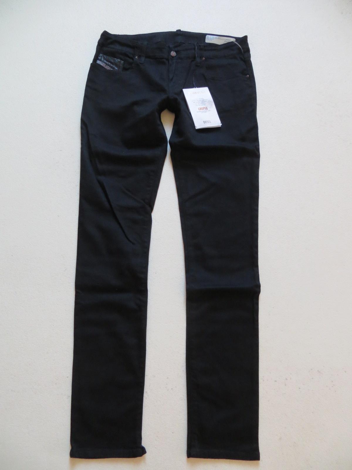 Diesel Damen Jeans Hose Skinny Grupee Super Slim 0800R