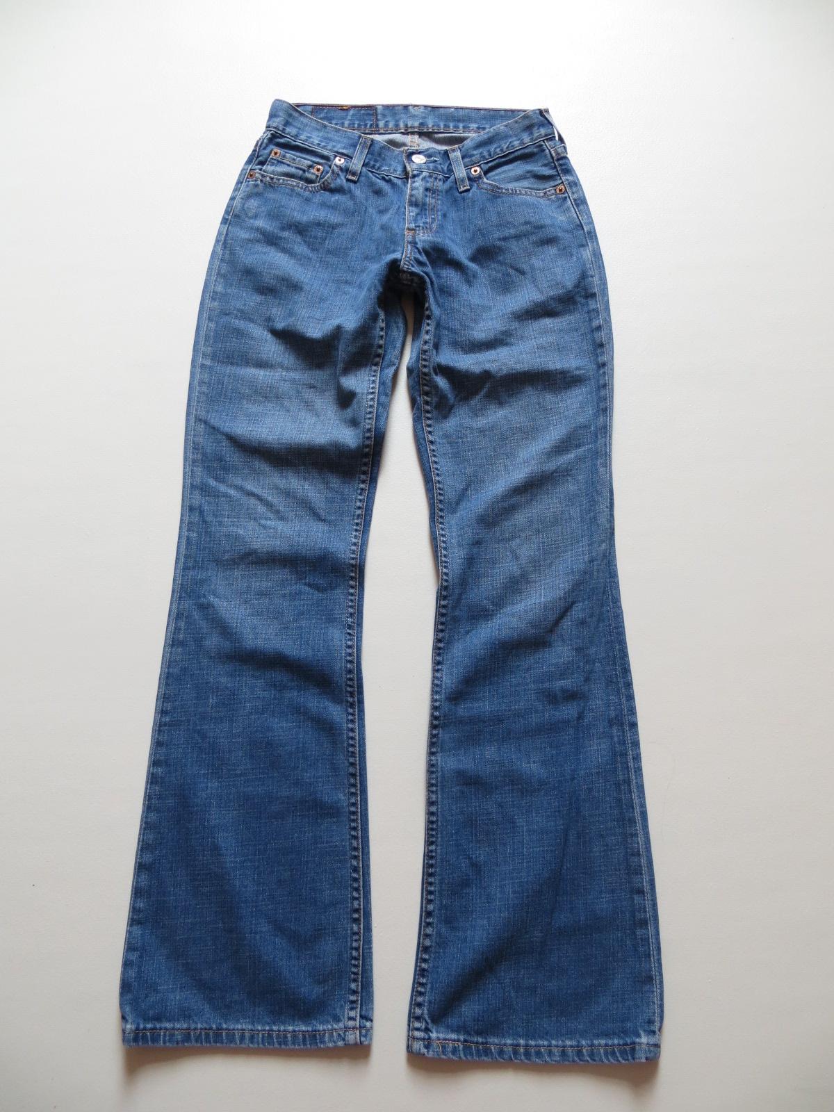 Details zu Levi's 529 Bootcut Jeans Hose, W 25 L 32, KULT ! 1703 washed Vintage Denim ! 34